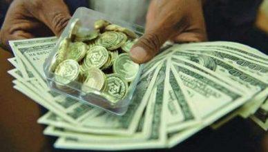افزایش قیمت دلار و انواع سکه در بازار آزاد