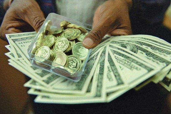 نرخ طلا و سکه در بازار آزاد ریزش کرد