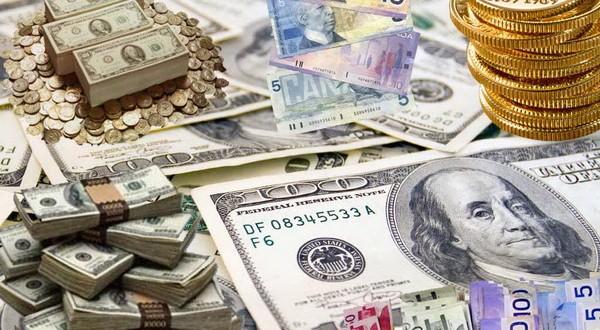 رشد قیمت دلار بانکی و افت پوند و یورو